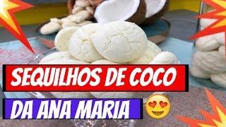 ➡️➡️Programa Mais Voçê 30/04/19 ➡️➡️Receita de Sequilhos de Coco da Ana Maria Braga Hoje