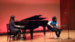 Running Away - Midnight Hour (cover)  Letícia Miki e Sabrina.
