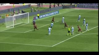 Gol de De Rossi ROMA-LAZIO 1-1 -Serie A HD