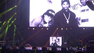 NWA - Gangsta Gangsta (Live at the BET Experience) Ice Cube, MC Ren, DJ Yella