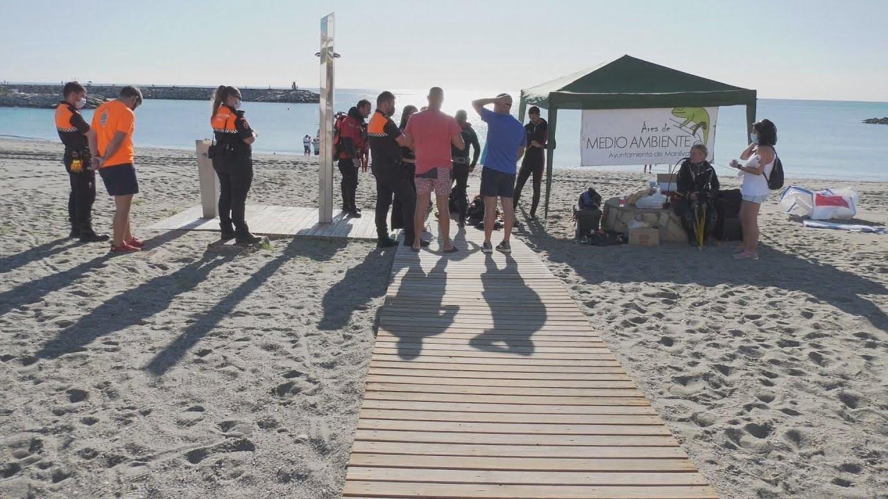 Limpieza Internacional de Fondos Marinos y Playas