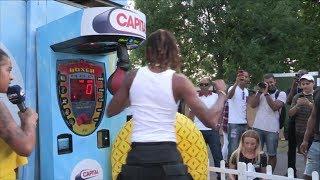 Fetty Wap & Monty Took On Wireless Festival Boxing Challenge 🥊