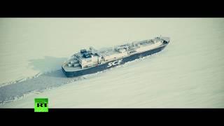 Le «Christophe de Margerie» traverse le passage du Nord-Est sans être accompagné d'un brise-glace
