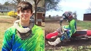 Hayes Grier Hospitalized After Dirt Bike Accident
