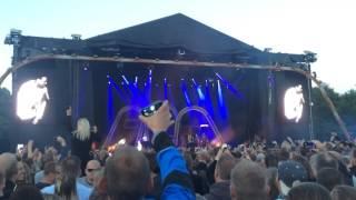 Brandon Beal - Golden ft. LUKAS GRAHAM - Mølleparken Aalborg 11.06.2016 @