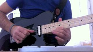"How To Play ""Tell Me That It's Easy"" End Guitar Solo"