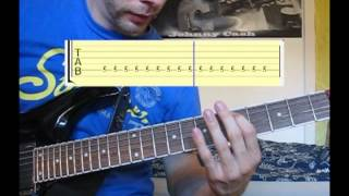 "How To Play ""Waking the Demon"" (""Bullet for my Valentine"") - Guitar Tutorial - Part 1"