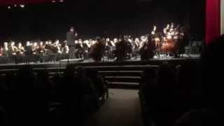 Trent McIntosh's first orchestral arrangement