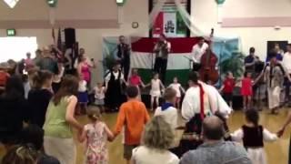 Hungarian children's circle dance