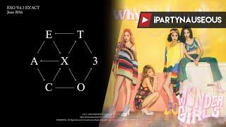 EXO x Wonder Girls - Monster x Why So Lonely (mashup)