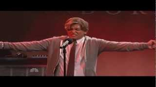 Bruno Mars impersionates Michael Jackson Smooth Criminal  Saturday Night Live [HD]