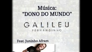 Fernandinho - CD Galileu - Dono do Mundo - Guitar