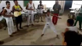 Grupo de capoeira arte corpo