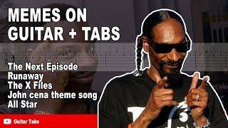 Meme songs guitar tabs