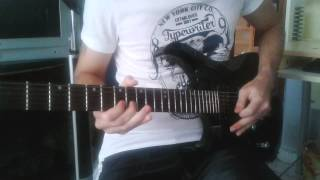 Pentagram - Lions In A Cage (Solo cover)
