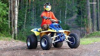 Suzuki 500cc 2-Stroke Power   FMF Fatty Pipe Sounds   No Music