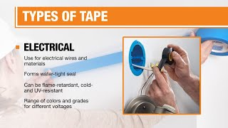 A person peels back a strip of painter's tape.