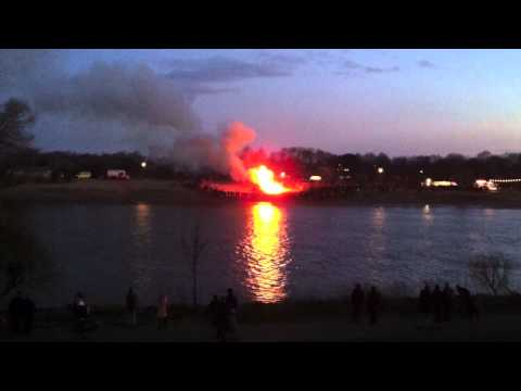 Osterfeuer 2012 Cafe Sand Bremen
