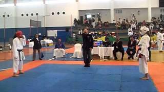 XVIII Campeonato Brasileiro de Karate Interestilos 2011 - Daiane vs. Lua Dias