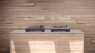Grand Class Direct Drive Turntable System SL-1210GR / SL-1200GR