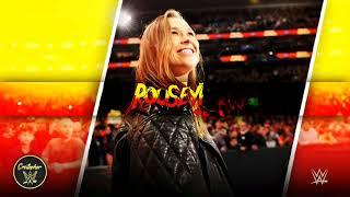 Ronda Rousey 1st WWE Theme Song 2018   Bad Reputation