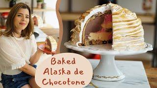 BAKED ALASKA DE CHOCOTONE | Receitas de Natal | TPM por Ju Ferraz