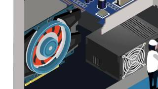 Computer Boot Process animation