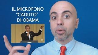 Obama fa cadere il microfono: 2 tecniche di public speaking