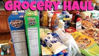 Meal Planning & Grocery Haul Walmart & Sams Club PaulAndShannonsLife