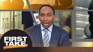 Stephen A. Smith: 'It's a wrap' if Warriors beat Rockets in Game 2 | First Take | ESPN