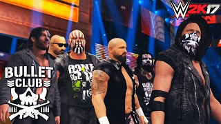 Bullet Club Entrance on RAW feat. AJ Styles, Karl Anderson, Kenny Omega, Gallows & more - WWE 2K17