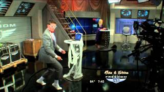 Pee Wee Dance on Rise and Shine