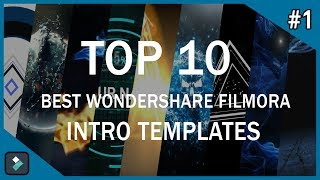 Top 10 Best Wondershare Filmora Intro Templates #1 + Free Download