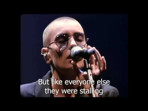 Feel So Different de Sinead Oconnor Letra y Video