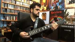 Sepultura - Roots Bloody Roots (guitar cover)