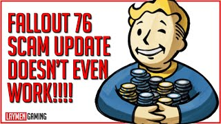 Bethesda's Lies Haunt Them As Fallout 76's Worst Scam Belly-Flops