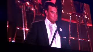 ROBBIE WILLIAMS - Come Undone - Rock in Lisboa 25/05/2014
