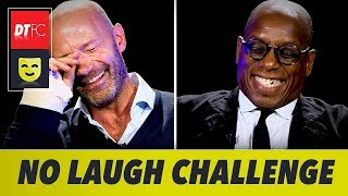 IMPOSSIBLE NO LAUGH CHALLENGE | With Alan Shearer and Ian Wright