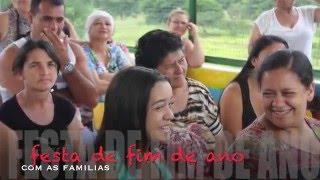 ARCA DO SABER Festa de fim de ano com as famílias 2015