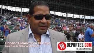 El hijo de Roberto Clemente visita Chicago en el Mes de la herencia Hispana