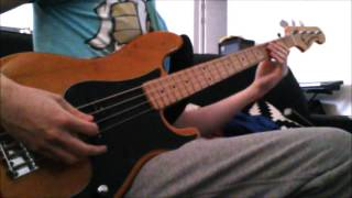 Bass cover: Balthazar - Hunger At the Door