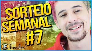 Sorteio Semanal #7 - Os Vencedores | Freedom Brasil
