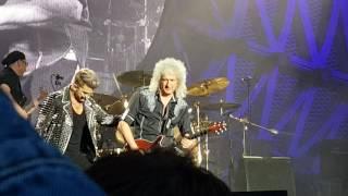 """Queen + Adam Lambert - """"Stone Cold Crazy"""" in Tallinn 05.06.2016"""
