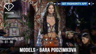 Models Spring/Summer 2017 Bara Podzimkova | FashionTV