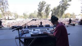 Dj Cidtronyck Freestyle en Lollapalooza, junto a Portavoz!
