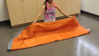 How to Roll Up Your Sleeping Bag