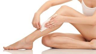 Como depilar perna com cera quente em casa | Mandy Francesa