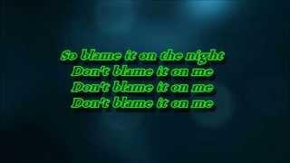 Calvin Harris ft. John Newman - Blame (Lyrics)