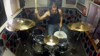 Unstoppable - DRUM COVER HD - Motionless In White