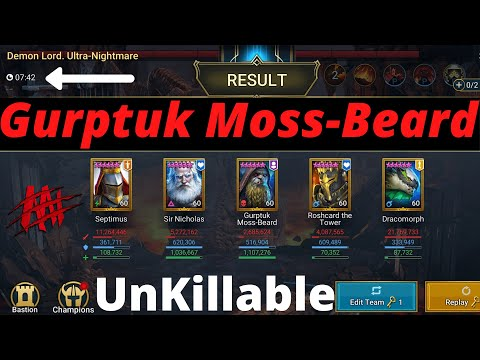 Gurptuk Fusion Unkillable Clan Boss Guide I Raid Shadow Legends